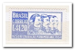 Brazilië 1954, Postfris MNH, 300 Years Of The Liberation Of Pernambuco From The Dutch - Brazilië