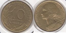Francia 10 Centimes 1986 KM#929 - Used - Francia