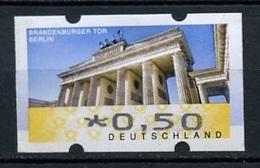 Allemagne Fédérale - Germany - Deutschland Distributeur 2008 Y&T N°TD7-0,50€ - Michel N°ATM6-0,50€ (o) - Brandebourg - BRD