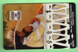PF15 LA FEMME ET L'ENFANT  *** SC7 *** TTBE *** (A6-P2) - Frans-Polynesië