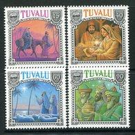 Tuvalu 1990 Christmas Set MNH (SG 593-596) - Tuvalu