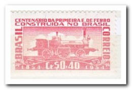 Brazilië 1954, Postfris MNH, Trains - Ungebraucht