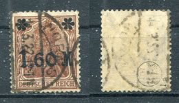 D. Reich Michel-Nr. 154Ia Gestempelt - Geprüft - Used Stamps