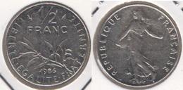 Francia ½ Franc 1986 Km#931.1 - Used - Francia