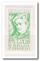 Brazilië 1954, Postfris MNH, 100th Birthday Of Apolonia Pinto, Actress - Brésil