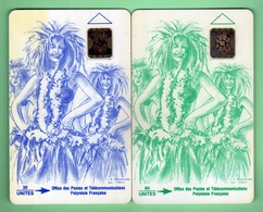 PF8+PF10 VAHINE *** SC5+SC4 *** TTBE *** (A6-P2) - French Polynesia