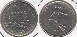 Francia 1 Franc 1969 KM#925.1 - Used - H. 1 Franco