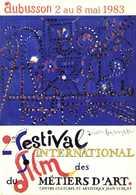 Aubusson 2 Au 8 Mai 1983 2e Festival International Des Metiers D'Art RV - Aubusson