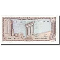 Billet, Lebanon, 1 Livre, 1980, KM:61c, NEUF - Liban