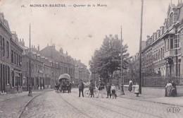 MONS EN BAROEUL      QUARTIER DE LA MAIRIE - France