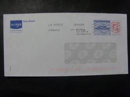 17550-1- PAP Réponse Ciappa-Kavena Ligue Contre Le Cancer, Agrément 15P374, Mentions Au Dos En Gris, Oblitéré - Entiers Postaux