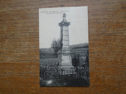 """Carte Assez Rare , Culmont Monument Aux Morts De La Guerre """""""" Beaux Petits Timbres Et Cachets """""""" - France"""