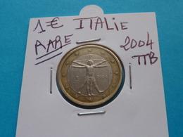 RARE ***  1 EURO ITALIE 2004 Ttb ( 2 Photos ) - Italie