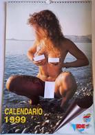 FERMO POSTA 1999  CALENDARIO EROTICO  ( 260218) - Formato Piccolo : 2001-...