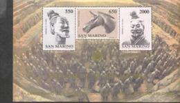 San Marino Block 10 Chinesische Kunst  MNH **  Postfrisch - Hojas Bloque