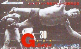Télécarte  Japon * SUMO * JAPAN (842) LUTTE LUTTEURS WORSTELEN * JUDO * Kampf Wrestling LUCHA Phonecard - Sport