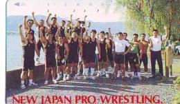 Télécarte  Japon * SUMO * JAPAN (848) LUTTE LUTTEURS WORSTELEN * JUDO * Kampf Wrestling LUCHA Phonecard - Sport