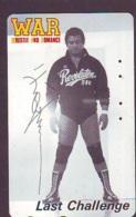 Télécarte  Japon * SUMO * JAPAN (852) LUTTE LUTTEURS WORSTELEN * JUDO * Kampf Wrestling LUCHA Phonecard - Sport