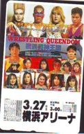 Télécarte  Japon * SUMO * JAPAN (853) LUTTE LUTTEURS WORSTELEN * JUDO * Kampf Wrestling LUCHA Phonecard - Sport