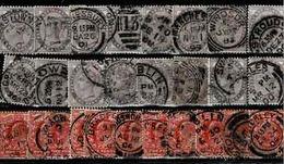 TP N° 73 En 16 Ex (peut-être Un 72?) Et 125 En 11 Exemplaires - Used Stamps