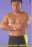 Télécarte  Japon * SUMO * JAPAN (883) LUTTE LUTTEURS WORSTELEN * JUDO * Kampf Wrestling LUCHA Phonecard - Sport