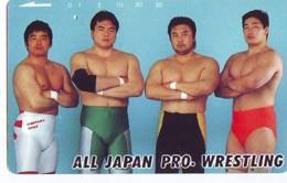 Télécarte  Japon * SUMO * JAPAN (886) LUTTE LUTTEURS WORSTELEN * JUDO * Kampf Wrestling LUCHA Phonecard - Sport
