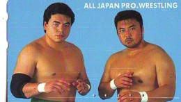 Télécarte  Japon * SUMO * JAPAN (888) LUTTE LUTTEURS WORSTELEN * JUDO * Kampf Wrestling LUCHA Phonecard - Sport