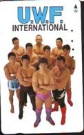 Télécarte  Japon * SUMO * JAPAN (889) LUTTE LUTTEURS WORSTELEN * JUDO * Kampf Wrestling LUCHA Phonecard - Sport