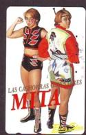 Télécarte  Japon * SUMO * FEMMES *  MITA *  JAPAN (919) LUTTE LUTTEURS WORSTELEN * JUDO * Wrestling LUCHA Phonecard - Sport