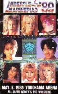 Télécarte  Japon * SUMO * FEMMES * WOMEN *  JAPAN (920) LUTTE LUTTEURS WORSTELEN * JUDO * Wrestling LUCHA Phonecard - Sport