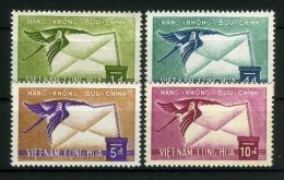 VIETNAM DU SUD ( AERIEN) : Y&T N°  11/14  TIMBRES  NEUFS  SANS  TRACE  DE  CHARNIERE , A  VOIR . - Vietnam