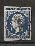 TB NUANCE FONCEE,  PC 2686 RIVE DE GIER Loire. - 1853-1860 Napoleon III