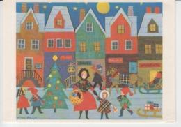 Nora Axe Norway Christmas Time, Noel, Weihnachten, Unused (ask For Verso) - Malerei & Gemälde