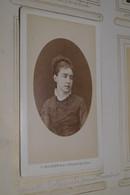 Photo Mulnier Paris,ancienne Photo Carton,à Identifier,Mme Charles Rollin,née Louise ... - Anciennes (Av. 1900)