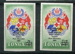 Tonga **  PA 19/20 - Jeux Du Pacifique - Tonga (1970-...)