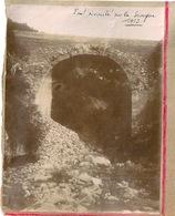 Originale Photo Pont écroulé Sur La Siagne 1913 - Lieux