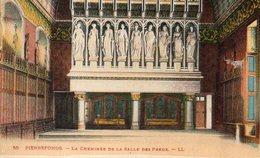 PIERREFONDS - Le Château - La Cheminée De La Salle Des Preux - Pierrefonds