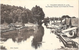Dépt 77 - VILLENOY - Les Bateaux Fournier Sur Le Canal De L'Ourcq - (péniches) - Environs De Meaux - Édit. Teyssier N° 9 - Villenoy