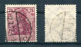 D. Reich Michel-Nr. 197a Gestempelt - Geprüft - Used Stamps