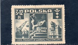 POLOGNE 1946 * - 1944-.... Repubblica