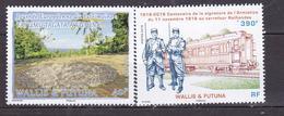 WALLIS ET FUTUNA 2018 JOURNEE DU PATRIMOINE LES 100 ANS DE L ARMISTICE  MNH - Wallis-Et-Futuna