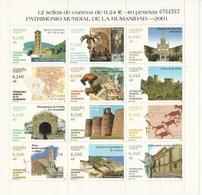 Espagne_Bloc-feuillet_Patrimoine Mondial De L'Humanité - Blocchi & Foglietti