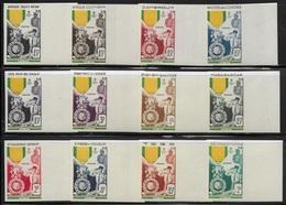 FRANCE - GRANDES SERIES COLONIALES 1952 - MEDAILLE MILITAIRE - NON DENTELE - ND - IMPERF - 1952 Centenaire De La Médaille Militaire
