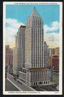 CPA - PITTSBURGH - View Showing Gulf Building, Koppers Building And Federal Reserve Bank (Lot 408) - Pittsburgh