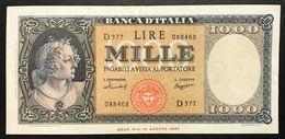 1000 Lire Medusa 15 09 1959 Bel Bb/spl   LOTTO 1188 - Verzamelingen
