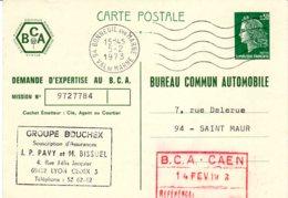 Carte Postales 30 C  Cheffer  Timbrée Sur Commande - Entiers Postaux