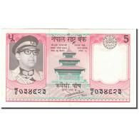 Billet, Népal, 5 Rupees, KM:23a, TTB+ - Népal