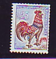 ROULETTE1331b + 1331Ab  COQ DECARIS 0.25 ET 0.30 NUMERO ROUGE AU VERSO LEGERE TRACE DE CHARNIERE COTE DES TP NEUFS 93.50 - 1962-65 Cock Of Decaris
