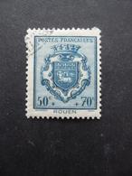 FRANCE Armoirie De Rouen N°528 Oblitéré - 1941-66 Armoiries Et Blasons