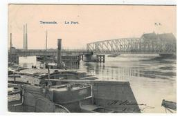 Termonde. - Le Port  N.8.   1905 - Dendermonde